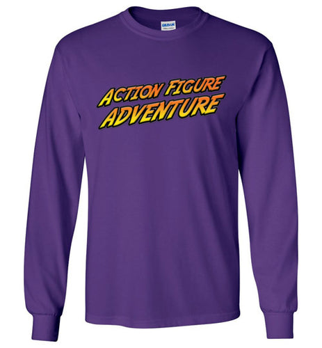 Action Figure Adventure: Long Sleeve T-Shirt