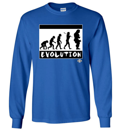 EVOLUTION: Long Sleeve T-Shirt