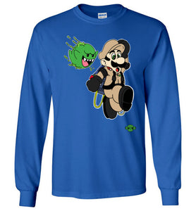 Slimed Ghost Bros.: Long Sleeve T-Shirt