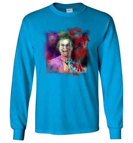 Jack as Joker: Long Sleeve T-Shirt