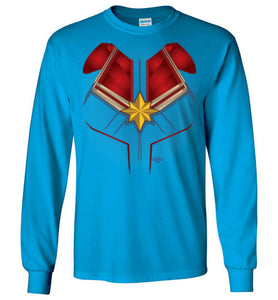 Captain Carol: Long Sleeve T-Shirt