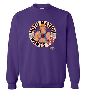 MOTU Nation Want's YOU: Sweatshirt