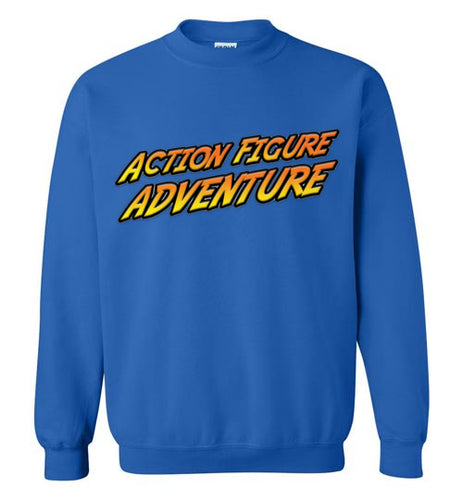 Action Figure Adventure: Sweatshirt