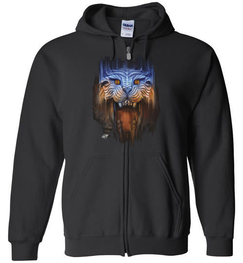 Eternal Lion: Full Zip Hoodie