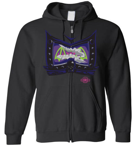 Battle Damage Bad (2-Strike): Full Zip Hoodie