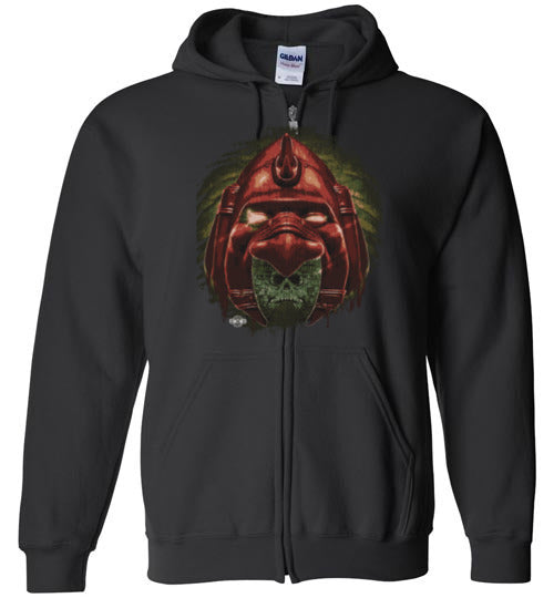 Eternal Cat: Full Zip Hoodie