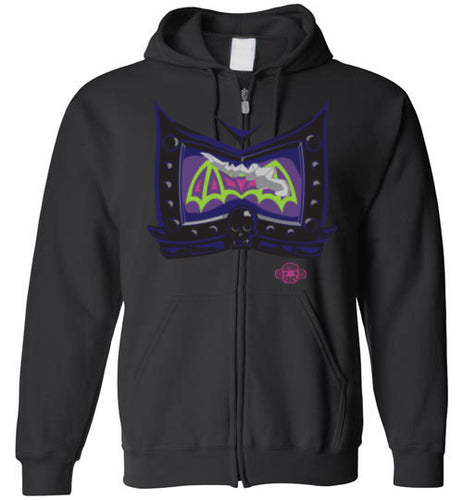 Battle Damage Bad (1-Strike): Full Zip Hoodie