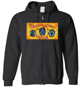Greatest Toy Group GTG: Full Zip Hoodie