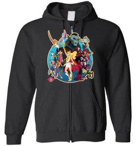 New P.O.P. Generations: Full Zip Hoodie