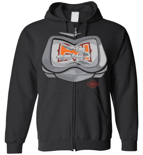 Battle Damage Good (2-Strike) Zip Hoodie