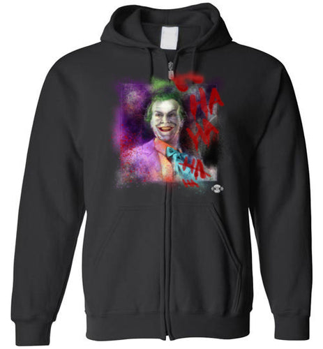 Jack as Joker: Full Zip Hoodie