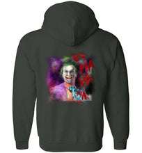 Jack as Joker: Full Zip Hoodie (BACK)