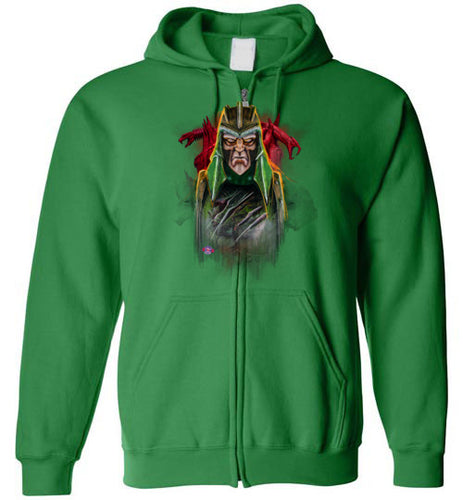 King of Snakes: Full Zip Hoodie