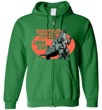 World Tour Zilla: Full Zip Hoodie