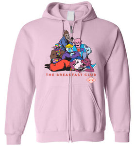 Monster Breakfast Club: Full Zip Hoodie