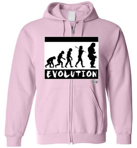 EVOLUTION: Full Zip Hoodie