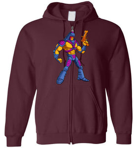Many Faces: Full Zip Hoodie