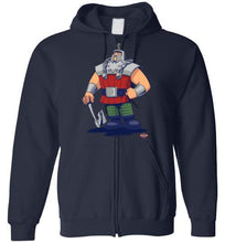Ram of Man: Full Zip Hoodie