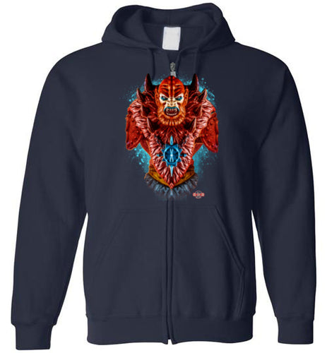Master of Beasts: Full Zip Hoodie