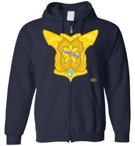 Battle Damage She Classic 1 Strike: Full Zip Hoodie