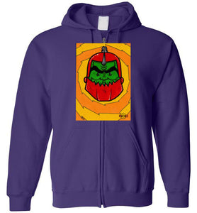 Happy Kronis: Full Zip Hoodie