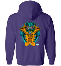 Ruler of Rakash: Full Zip Hoodie (Back)