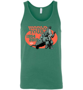 Godzilla World Tour: Tank (Unisex)