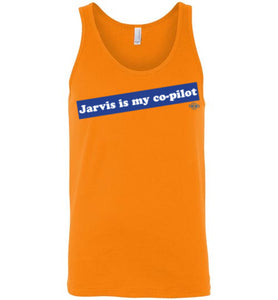 Jarvis is my co-pilot: Tank (Unisex)