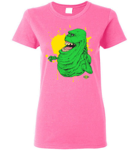 Slimer v1: Ladies T-Shirt