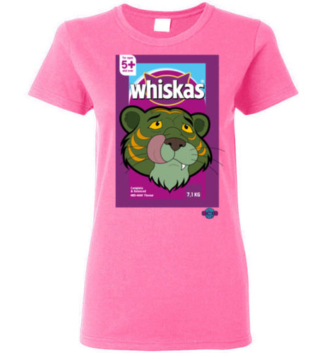 Whiskas: Ladies T-Shirt