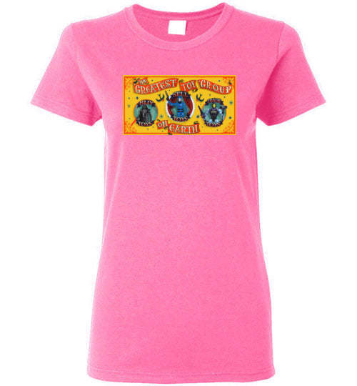 Greatest Toy Group GTG: Ladies T-shirt