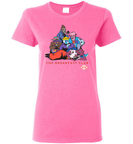 Monster Breakfast Club: Ladies T-Shirt