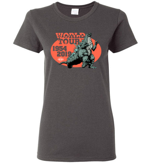 Godzilla World Tour: Ladies T-Shirt