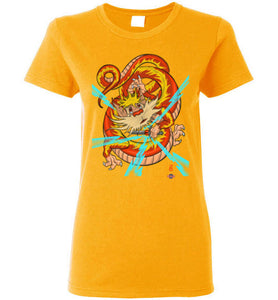 Dragon-snarf: Ladies T-Shirt