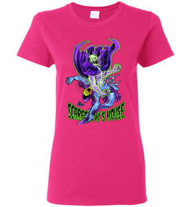 Scareglow's House v1: Ladies T-Shirt
