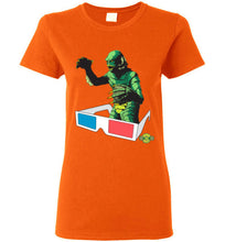 Creature 3D: Ladies T-Shirt