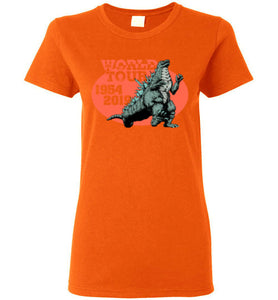 World Tour Zilla: Ladies T-Shirt