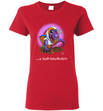 Sor-Saurus: Ladies T-Shirt (FL&BT)