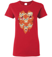 Man E Beasts: Ladies T-Shirt