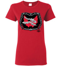 Battle Damage Horde 2 Strike: Ladies T-Shirt