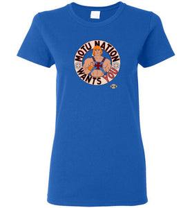 MOTU Nation Want's YOU: Ladies T-shirt