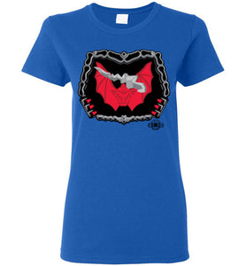 Battle Damage Horde 1 Strike: Ladies T-Shirt