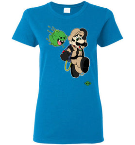 Slimed Ghost Bros.: Ladies T-Shirt