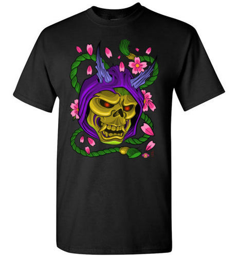 Skelly Hannya: Tall T-Shirt