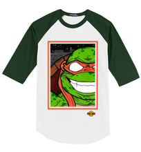 Mikey TMNT: 3/4 Sleeve Jersey