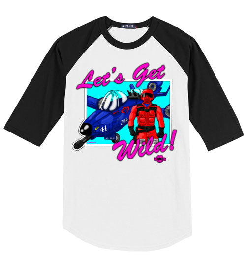 Let's Get Wild!: 3/4 Sleeve Jesey