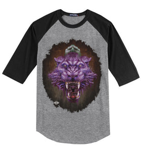 Eternal Panther: 3/4 Sleeve Jersey