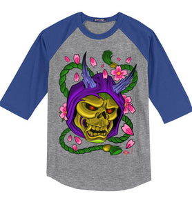 Skelly Hannya: 3/4 Sleeve Jersey