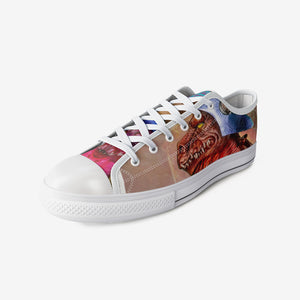 MOTU Dragon Red: Low Top Canvas Shoes (Men's)