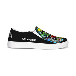 Well of Souls: Slip-On Canvas Shoe